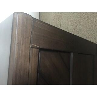 Baldwin Brown 2-drawer Nightstand