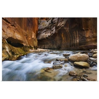 """Zion Canyon Narrows"" Poster Print"