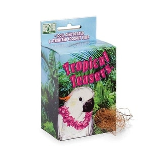 Prevue Pet Tropical Teasers Coco Nest Box - 62092