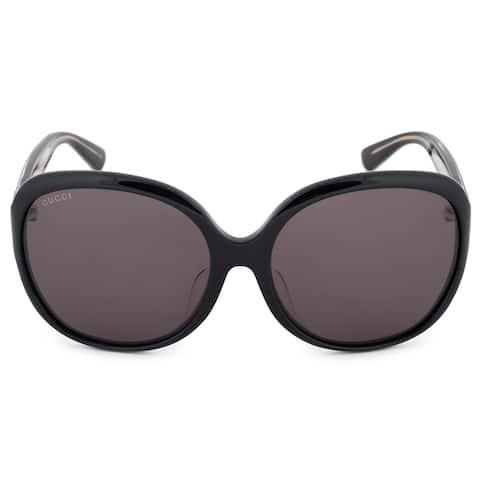 104b362e8d73 Gucci Gucci Oversized Sunglasses GG0080SK 001 61