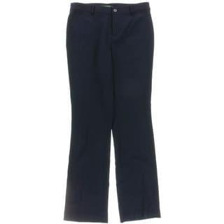Lauren Ralph Lauren Womens Dress Pants Flared Wool