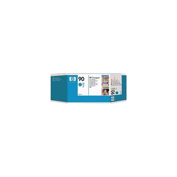 HP 90 225-ml Cyan DesignJet Ink Cartridge (C5060A) (Single Pack)
