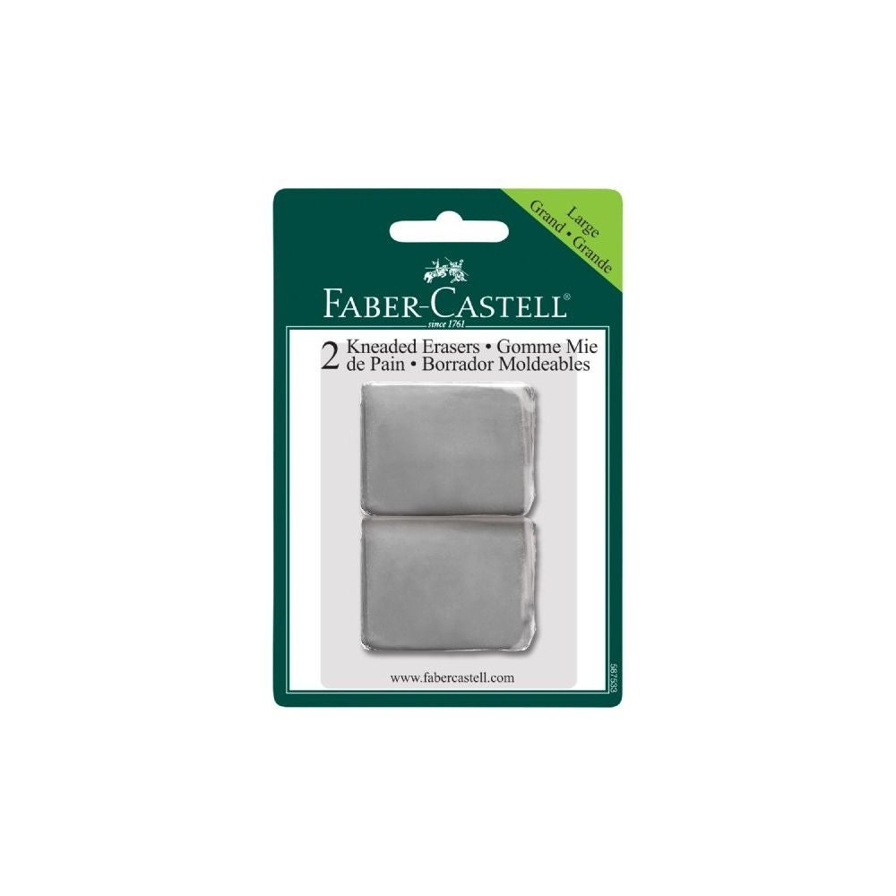 FABER-CASTELL 587533  FC KNEADED ERASERS 2PK