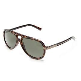 John Galliano Women's Pilot Style Sunglasses Tortoise - Small
