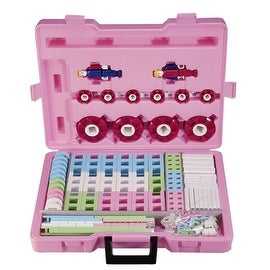 Lepao Building Blocks - 262 pcs Pink