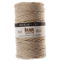 Beadsmith Natural Hemp Twine Bead Cord 2mm / 197 Feet (60 Meters)