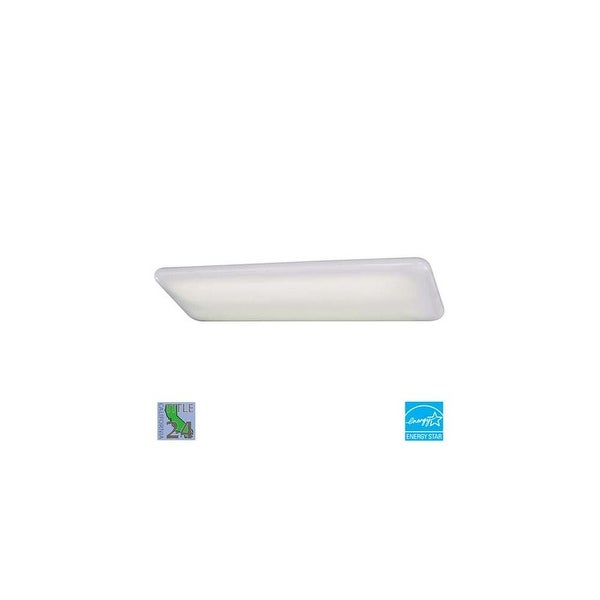 Minka Lavery ML 1008-PL Energy Star Rated Functional Fluorescent Ceiling Fixture from the Kitchen Fluorescent Collection