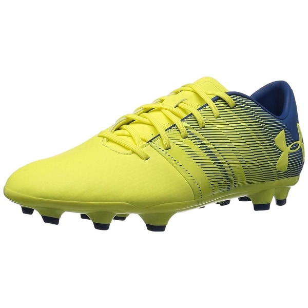 new concept f8146 021a9 Under Armour Men's Spotlight DL Firm Ground Soccer Shoe 101/White