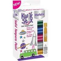 Metallic - Kwik Stix Tempera Paint 6/Pkg