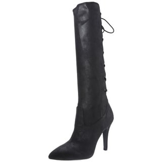 BCBGeneration Womens Erinn Knee-High Boots Faux Suede Pointed Toe - 10 medium (b,m)