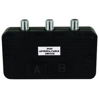 JR Products 47845 Cable TV A/B Switch Box