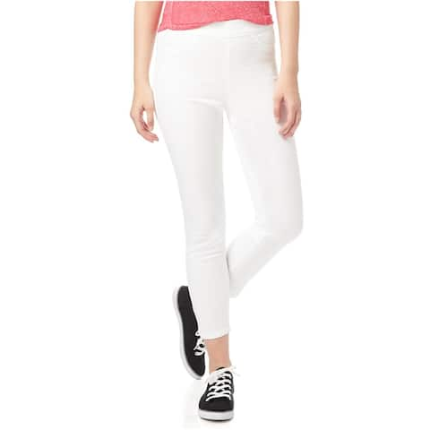 Aeropostale Womens High-Rise Cropped Jeggings