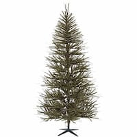 8' Decorative Vienna Twig Artificial Christmas Tree - Unlit - brown