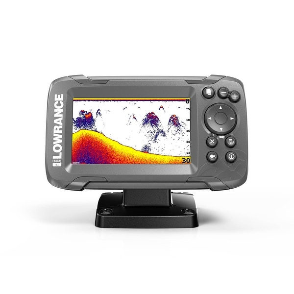 Lowrance 000-14014-001 HOOK2-4X 4 Display Fishfinder w/ GPS Plotter. Opens flyout.