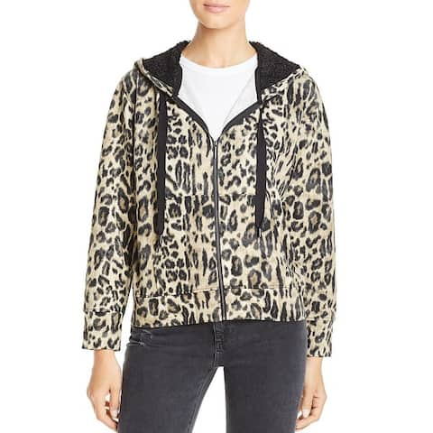 Kenneth Cole New York Womens Hoodie Zip Front