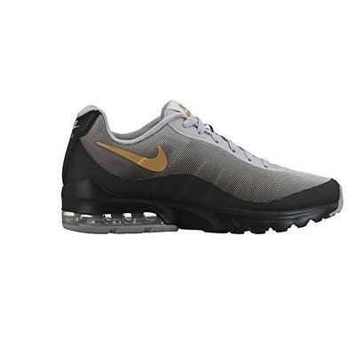 db87861175930 Shop Nike Women s Air Max Invigor Print Running Shoe Black Metallic Gold 10  - Free Shipping Today - Overstock - 20984190