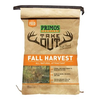 Primos 58526 primos 58526 take out fall harvest 25lb bag