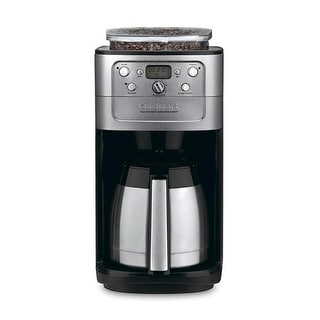 Grind Brew Thermal 12 Cup Coffeemaker Stainless/Black Fully Automatic Burr Grind & Brew Thermal