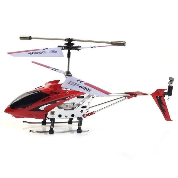 Shop Red Syma S107G 3CH Mini Remote Control RC Helicopter GYRO New
