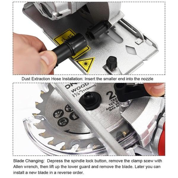 Shop Electric Mini Laser Circular Saw Hand Held Grinder