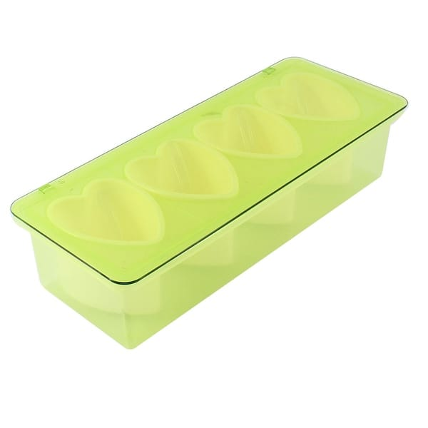 Bar Kitchen 4 Compartments Condiment Holder Container Dispenser Tray Green On Sale Overstock 28772131