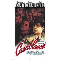 ''Casablanca (Color)'' by Anon Movie & TV Posters Art Print (36 x 24 in.)
