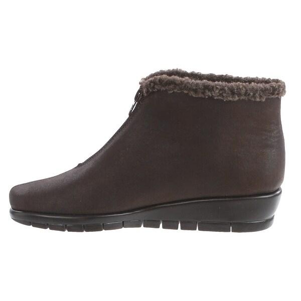 Aerosoles Womens Nonchalant Fabric Closed Toe Ankle Fashion Boots