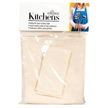 Fox Run 4176 Pastry Cloth Set And Rolling Pin Cover