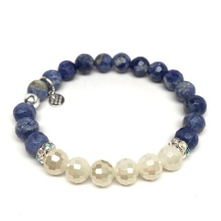 "Blue Sodalite Jen 7"" Bracelet"