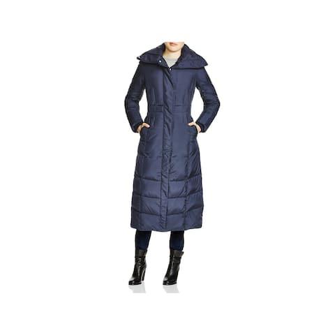 Cole Haan Womens Parka Coat ow Down - Navy