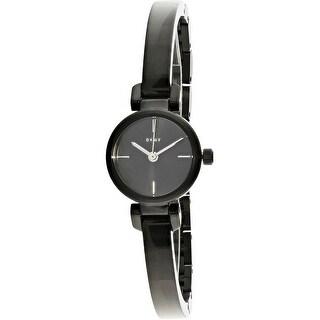Dkny Women's Ellington NY2630 Black Stainless-Steel Fashion Watch