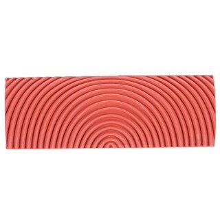 4 Inch Wood Graining Rubber Grain Tool Pattern Wall Painting DIY Red MS22 - MS22-4""