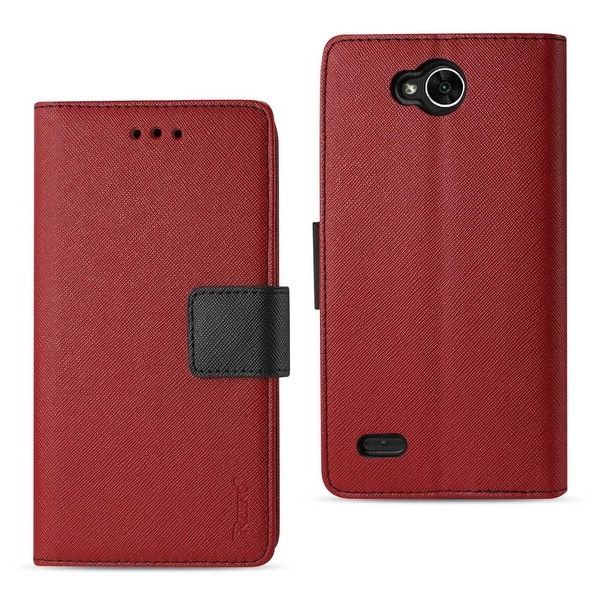 hot sale online 9902a 47294 Shop Reiko Lg X Power 2 3-In-1 Wallet Case In Red - Ships To Canada ...