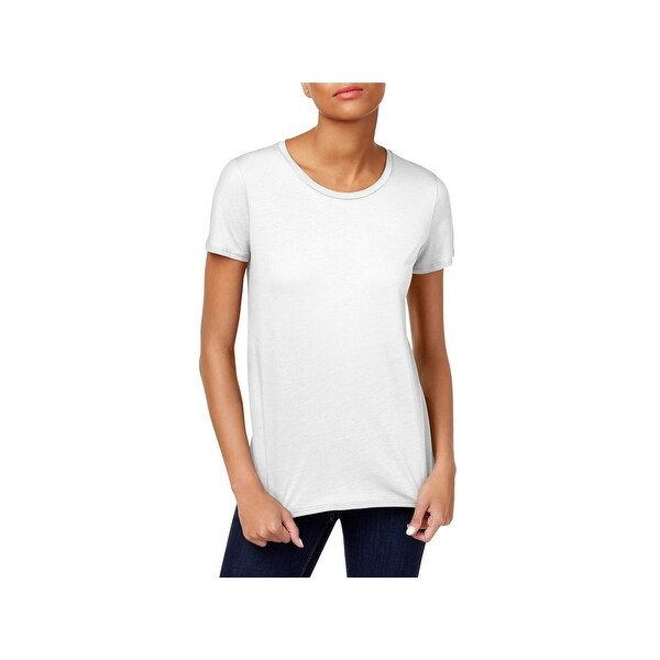 86bbee3de6 Shop Eileen Fisher Womens T-Shirt Cotton Short Sleeves - S - Free ...