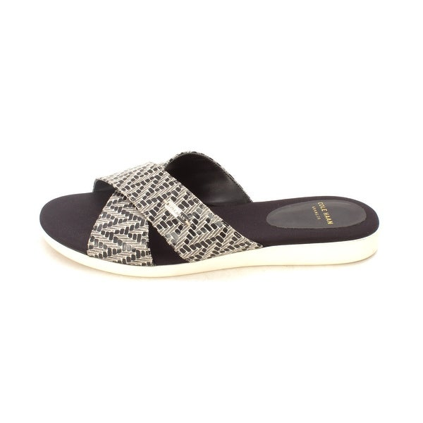Cole Haan Womens Salwasam Open Toe Casual Slide Sandals - 6