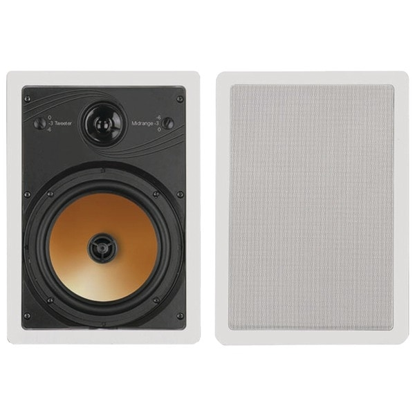 "Bic America Ht8W 8"" 3-Way Acoustech Series In-Wall Speakers"