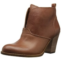 Lucky Brand Womens Ehllen Leather Closed Toe Ankle Fashion Boots