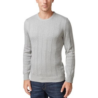 John Ashford Mens Pullover Sweater Crew Neck Long Sleeves