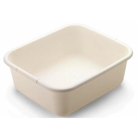 Rubbermaid 2951ARBISQU Rectangular Dish Pan, 11.4-Quart