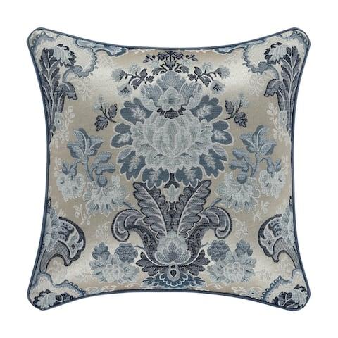 Five Queens Court Geraldine 18 Inch Decorative Throw Pillow