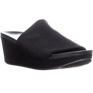 Carlos by Carlos Santana Debbi Wedge Sandals, Black - 8.5 us / 38.5 eu