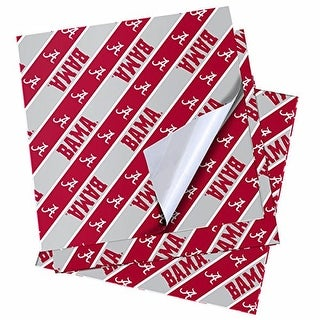 Alabama Crimson Tide Team Gift Wrapping Paper Roll