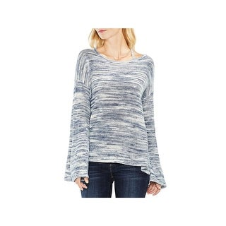 Two by Vince Camuto Womens Pullover Sweater Bell Sleeve Fall