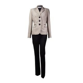 Le Suit Women's Monte Carlo Printed Pant Suit