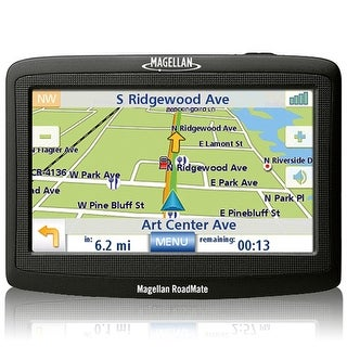 Refurbished Magellan RoadMate 1412 4.3-inch Automotive GPS w/ Turn-by-Turn Voice & Visual Guidance