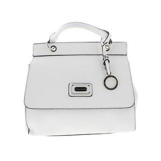 Catherine Malandrino Womens Juliet Shoulder Handbag Faux Leather Flap - Medium (2 options available)