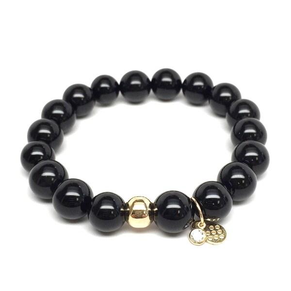 "Black Onyx Emma 7"" Bracelet"