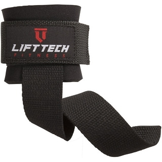 Link to Lift Tech Fitness Neo Wrist Support Weight Lifting Straps - Black - One Size Similar Items in Fitness & Exercise Equipment