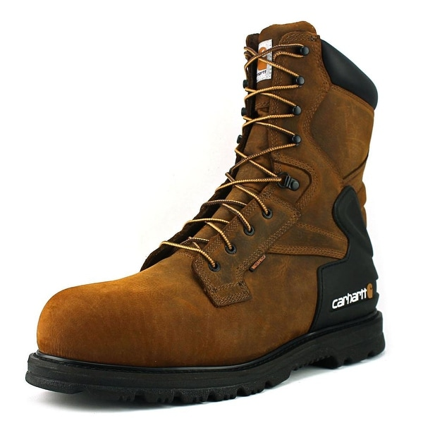 "Carhartt 8"" Work W Round Toe Leather Work Boot"