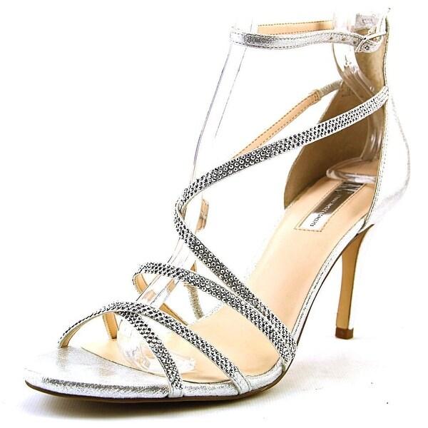 INC International Concepts Gemm 2 Women Pearl Silver Sandals